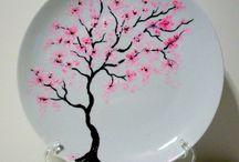 Pittura ceramica vetro