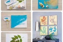 DIY paintings / Easy DIY art ideas that I like!