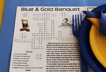 blue and gold ideas
