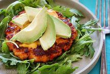 Burgers - Salmon, Fish & Seafood Burgers