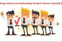Things Every Crowdfunding Project Owner Should Do / Everyone have big dreams. There is at least one idea in everyone's mind which he or she wants to turn into reality which is of course not an easy task.