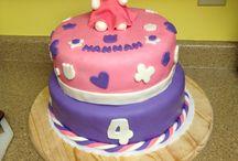Cakes I've Made / Birthday cakes / by Kristine Dorrain