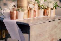Industrial Themed Weddings <3