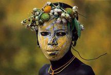 The Omo People / The Omo People from Ethiopia by Hans Silvester