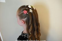 Hair styles for lil gals / by Whitney Herrold