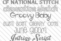 Everything fonts / by Beth Moody