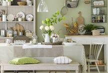 Kitchen/dinning decor / by Leila Gonzalez