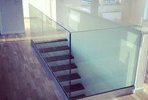 glas till källartrappa
