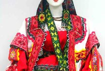 Russian Folk Costume Dolls
