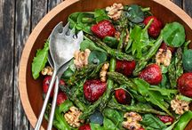 Recipes for Summertime! / Cool salads, summer veggies, and fresh herbs - food that embraces the seasonal selections of summertime!