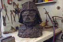 ★ Sculpture n' Crafts ★ / Sculpture & Art-Crafts for your enjoyment! / by Andrew Kelsall