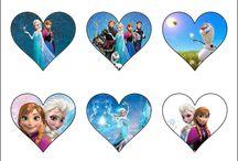 coração frozen