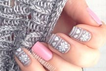 Winter nails / Zimowe manicure