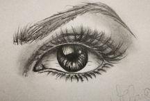 rajz szem