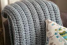 textured crochet blankets