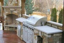 Outdoor Kitchens / These are way better than the grill your dad used to have - modern kitchens only in the great outdoors