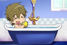 Free! / Gays in the pool