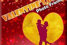 Valentine's Day Photo Frames