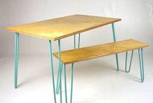 Table à manger & son banc