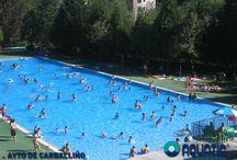 Construcción de piscinas públicas / Construcción de piscinas públicas AQUATIC® construye la primera piscina pública en 1970 http://aquaticproyect.com/piscinas-publicas/