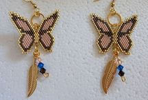 Butterfly / brick stitch