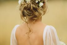 Bridal hair & flowers