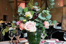 [RÉALISATIONS] Mariage Romantique et Floral - Dessine-moi une étoile / Design et Papeterie : Dessine-moi une étoile Compositions Florales : Aude Rose