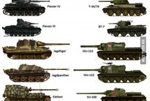 tanks and other armored vehicles