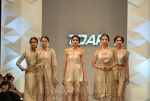 TDAP Fashion show / For TDAP's Spring/Summer 2015 showcase couturier Zainab Chottani presents ShimmerPUR buoyed by beautiful and artisanal mukesh embroidery from Bahawalpur juxtaposed with sumptuous French lace and transposed onto an elegant nude palette.