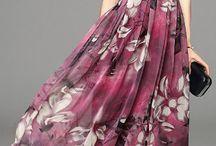 vestidos de Shifon