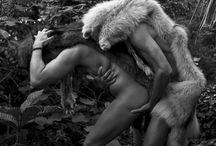 mam in fur