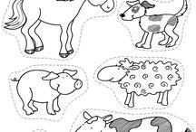 Farm and farm animals