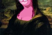 Mona Lisa, Mona Lisa.... / by Karly Shelton