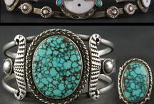 Turquoise, Zilver & Leather Juwelery