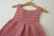 Dresses, crochet