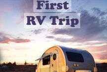 Caravan travel / RV travel, Campervan travel, Tiny house etc.