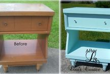 Before and After / Before and After photos of thrift store furniture makeovers and upcycled flea market finds. Get inspired!