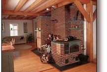 fireplace / stove