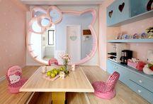 Girls Bedroom Designs / Bedroom interior designs for toddler girls sharing a room.