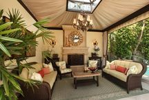 Outdoor ideas and patios / by Kimber Mixon