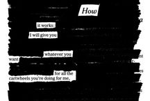 Blackout Poetry / Examples of blackout poetry.  / by Marathon County Public Library