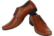 Pure Brown Leather Shoe