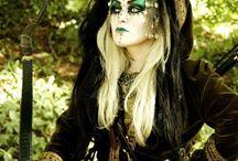 Make-up / Kostüme Halloween 2017
