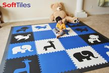 Playroom using SoftTiles Die-Cut Shapes