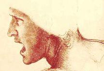 L. da Vinci spirited lively enticing works