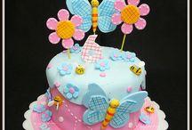 incriveis bolos de bebês