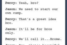 Percy Jackson texts