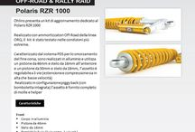 Polaris RZR 1000 / Kit aggiornamento Öhlins per Polaris RZR 1000