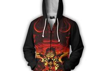 AWESOME 3D HOODIES