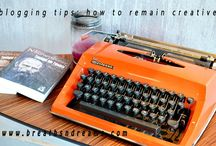 blogging tips & bloggers / blogging ideas, inspiration and tips